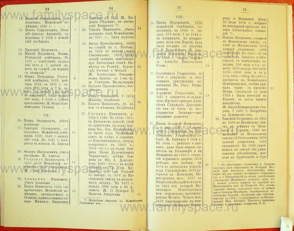 Поиск по фамилии - Статьи по генеалогии и истории дворянства, 1898, страница 3053