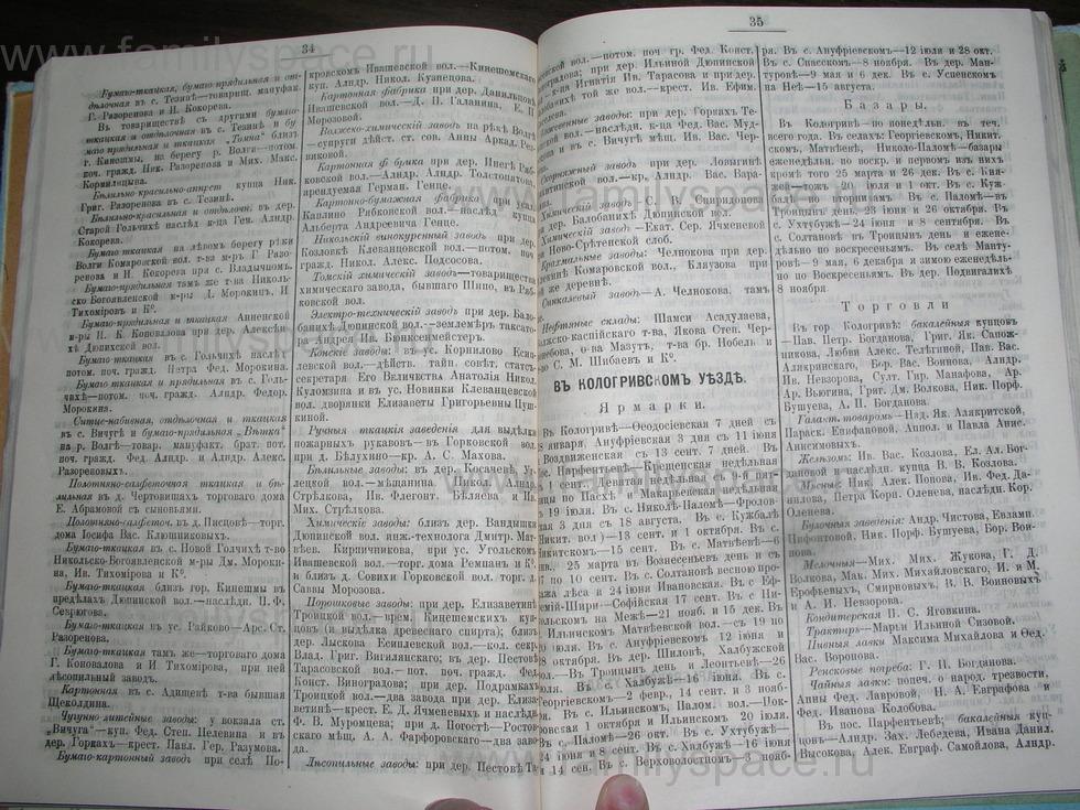 Поиск по фамилии - Костромской календарь на 1907 г. , страница 90