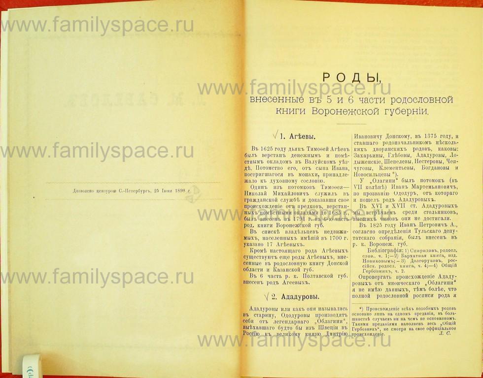 Поиск по фамилии - Статьи по генеалогии и истории дворянства, 1898, страница 1001