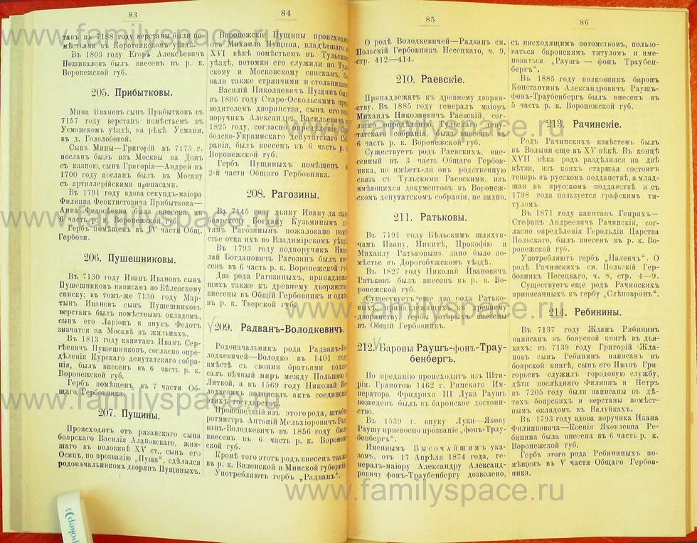 Поиск по фамилии - Статьи по генеалогии и истории дворянства, 1898, страница 1083