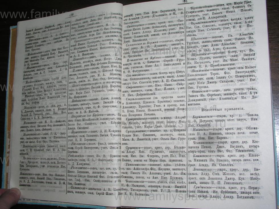 Поиск по фамилии - Костромской календарь на 1907 г. , страница 31