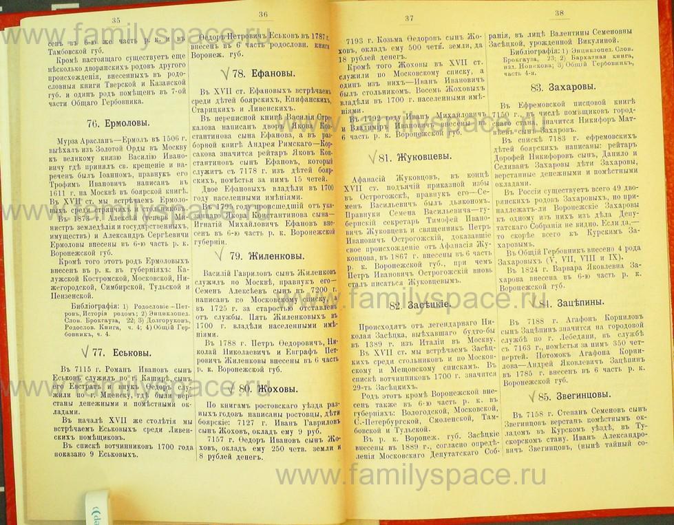 Поиск по фамилии - Статьи по генеалогии и истории дворянства, 1898, страница 1035
