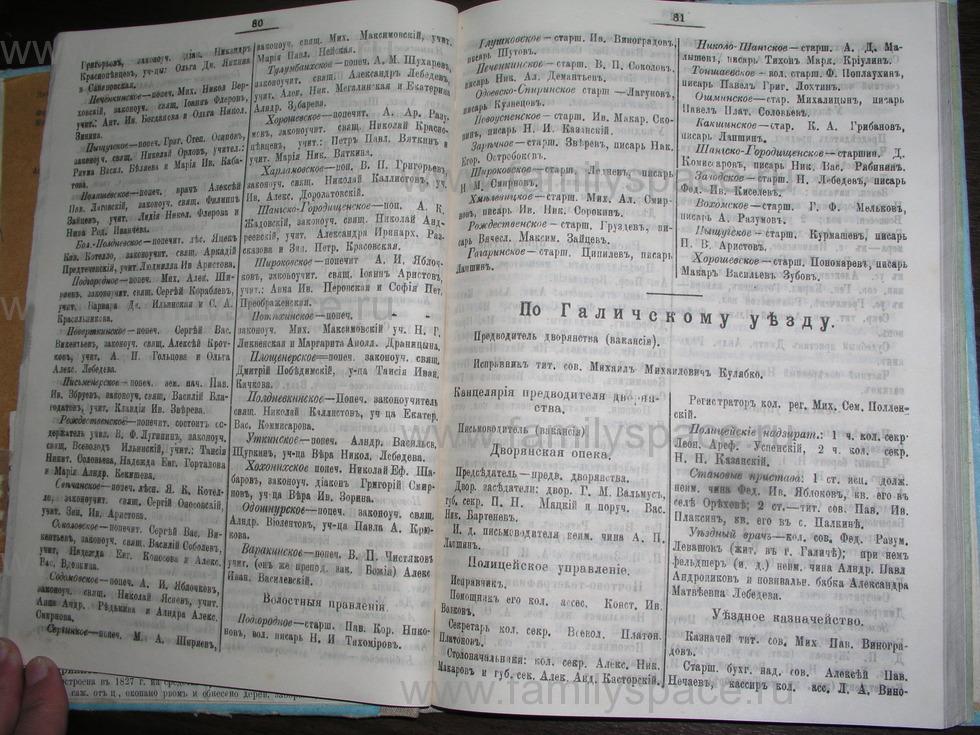 Поиск по фамилии - Костромской календарь на 1907 г. , страница 41