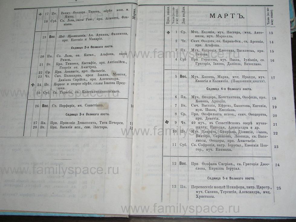 Поиск по фамилии - Костромской календарь на 1895 г. , страница 4