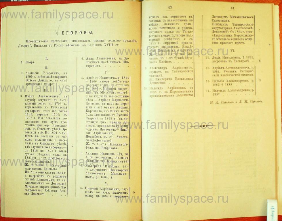 Поиск по фамилии - Статьи по генеалогии и истории дворянства, 1898, страница 3041