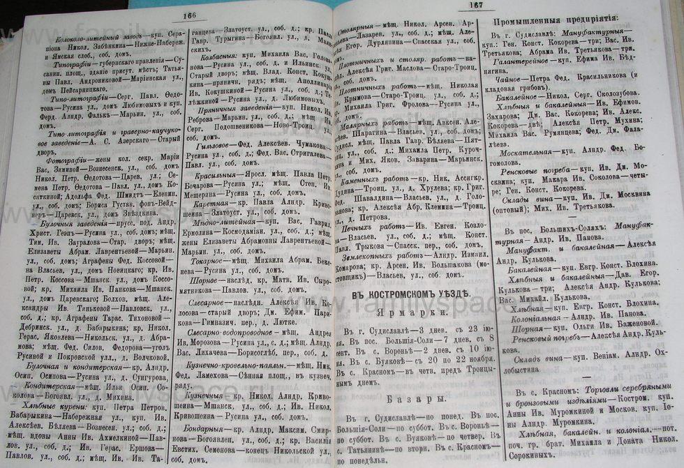 Поиск по фамилии - Костромской календарь на 1900 г. , страница 90