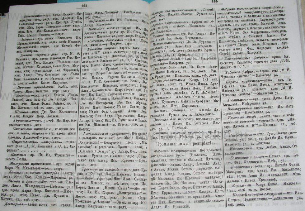 Поиск по фамилии - Костромской календарь на 1900 г. , страница 89