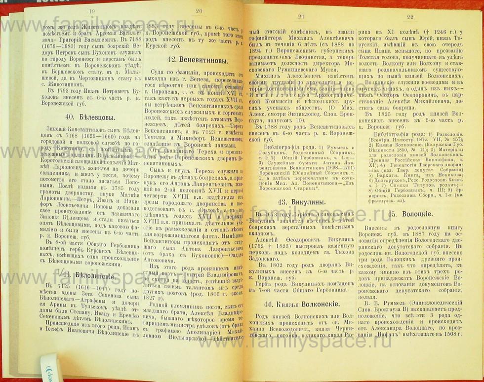 Поиск по фамилии - Статьи по генеалогии и истории дворянства, 1898, страница 1019