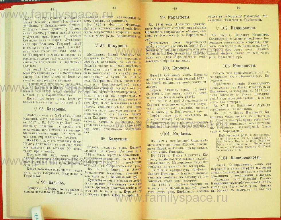 Поиск по фамилии - Статьи по генеалогии и истории дворянства, 1898, страница 1043