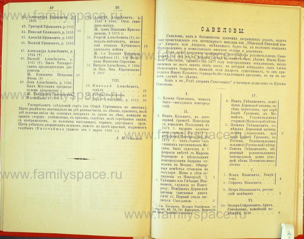 Поиск по фамилии - Статьи по генеалогии и истории дворянства, 1898, страница 3049