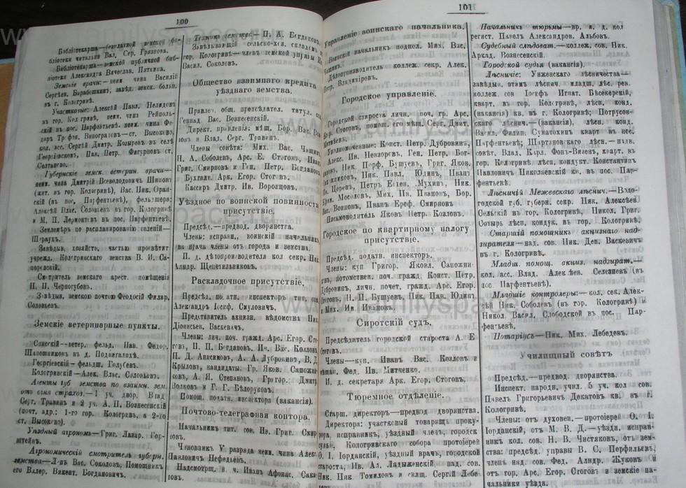 Поиск по фамилии - Костромской календарь на 1907 г. , страница 51