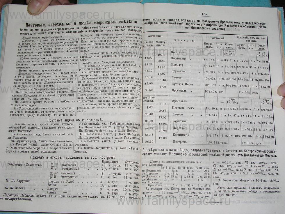 Поиск по фамилии - Костромской календарь на 1895 г. , страница 83