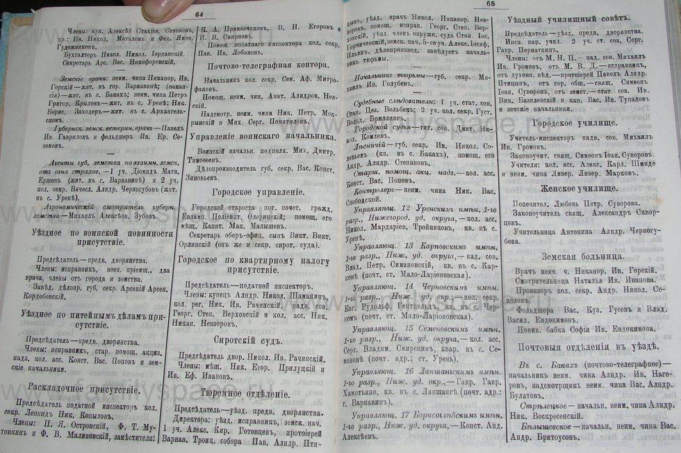 Поиск по фамилии - Костромской календарь на 1900 г. , страница 38