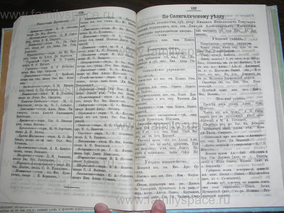 Поиск по фамилии - Костромской календарь на 1907 г. , страница 64