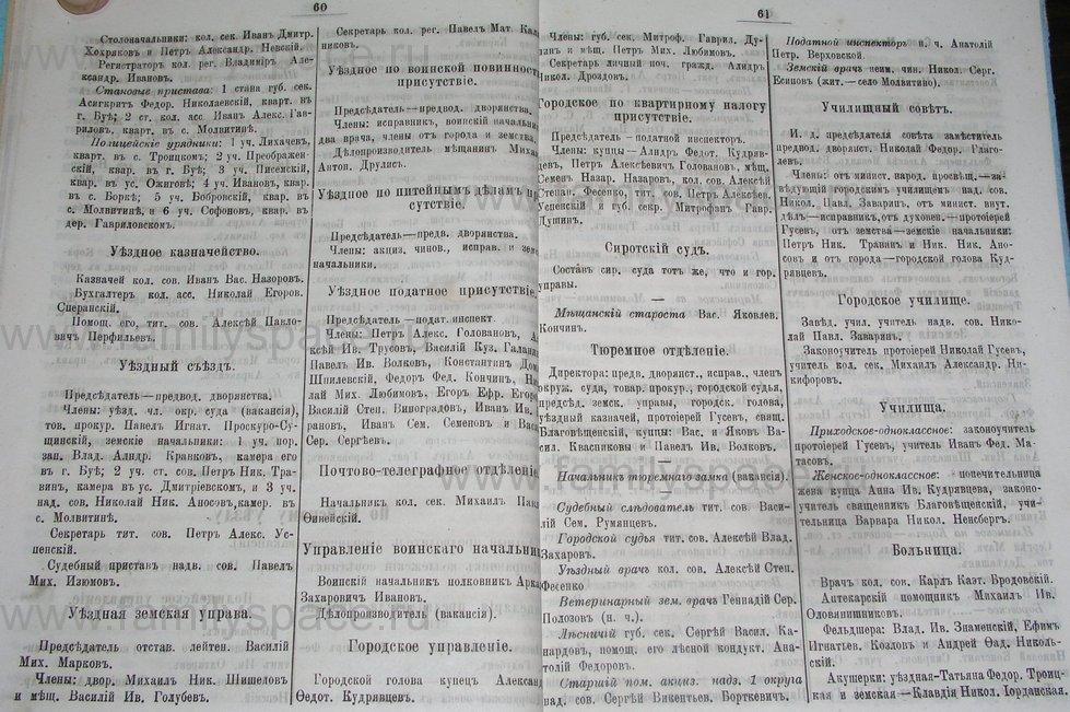Поиск по фамилии - Костромской календарь на 1895 г. , страница 31