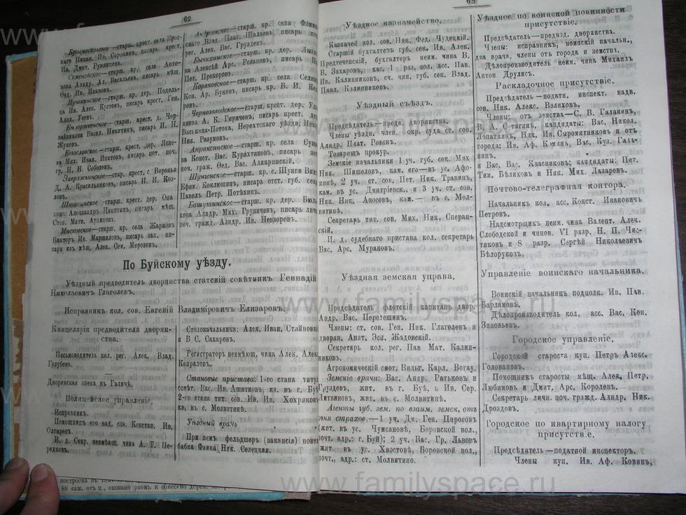 Поиск по фамилии - Костромской календарь на 1907 г. , страница 32