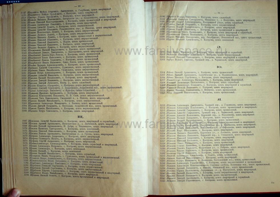 Поиск по фамилии - Список лиц, имеющих право участия на съезде городских избирателей по Костромскому уезду 1906г, страница 42