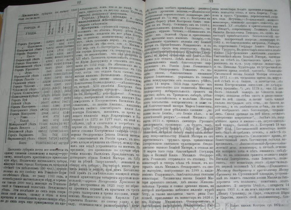 Поиск по фамилии - Костромской календарь на 1907 г. , страница 100