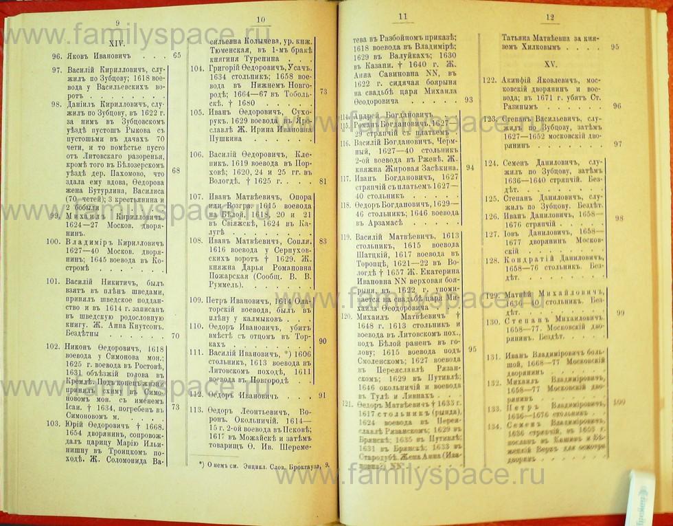 Поиск по фамилии - Статьи по генеалогии и истории дворянства, 1898, страница 3009