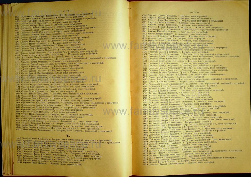 Поиск по фамилии - Список лиц, имеющих право участия на съезде городских избирателей по Костромскому уезду 1906г, страница 37