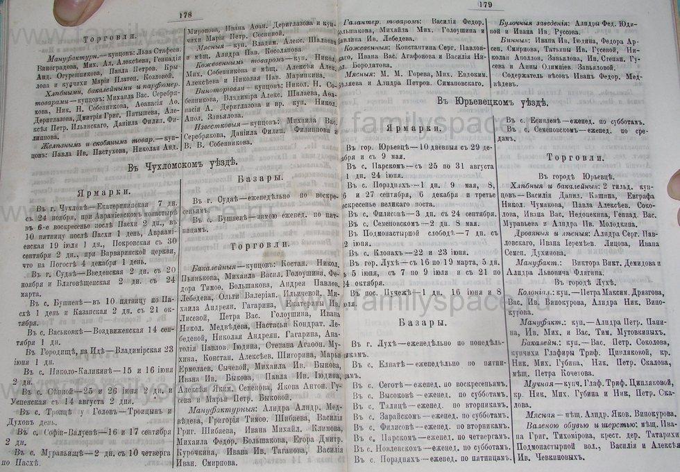Поиск по фамилии - Костромской календарь на 1895 г. , страница 90