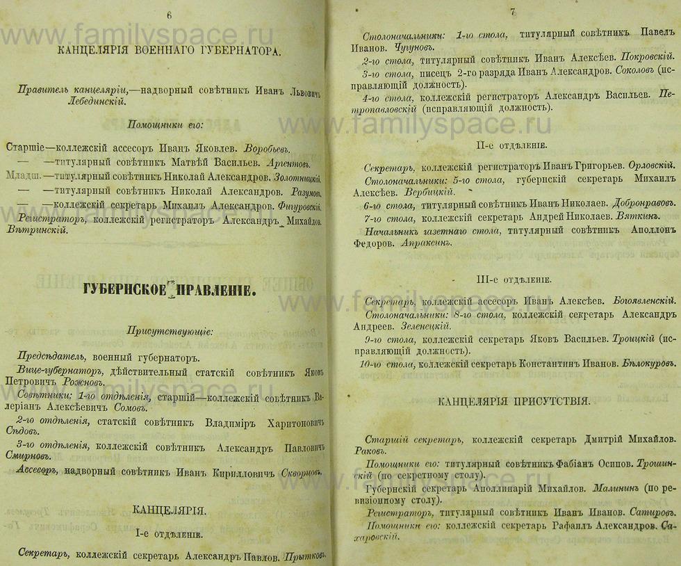 Поиск по фамилии - Памятная книжка Нижегородской губернии на 1865 год, страница 2006