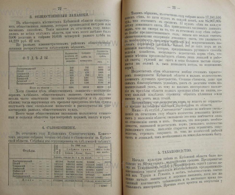 Поиск по фамилии - Кубанский календарь на 1898 год, страница 2072