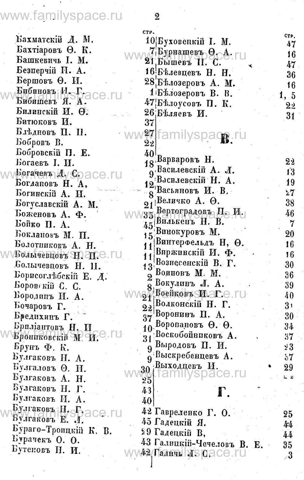Поиск по фамилии - Адрес-календарь Курской губернии на 1853 год, страница 2002