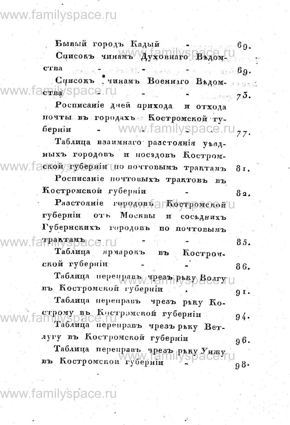 Поиск по фамилии - Памятная книжка Костромской губернии на 1853 год, страница 110