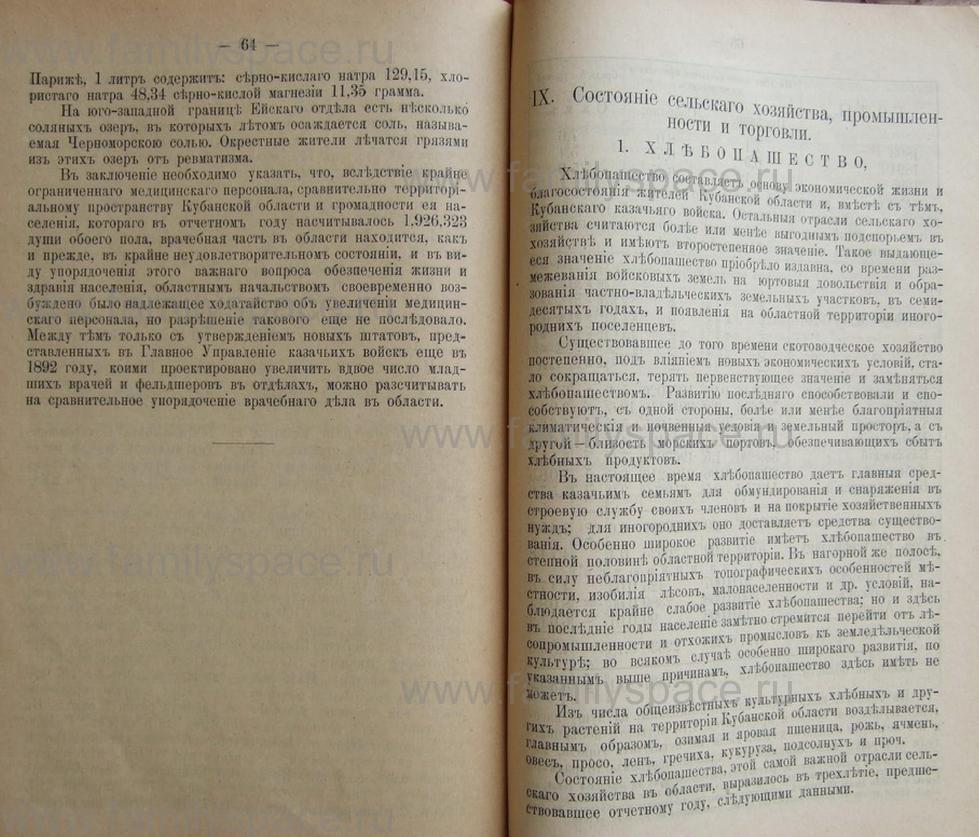 Поиск по фамилии - Кубанский календарь на 1898 год, страница 2064