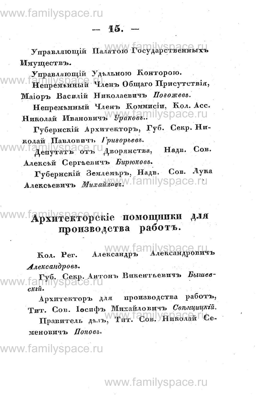Поиск по фамилии - Памятная книжка Костромской губернии на 1853 год, страница 15
