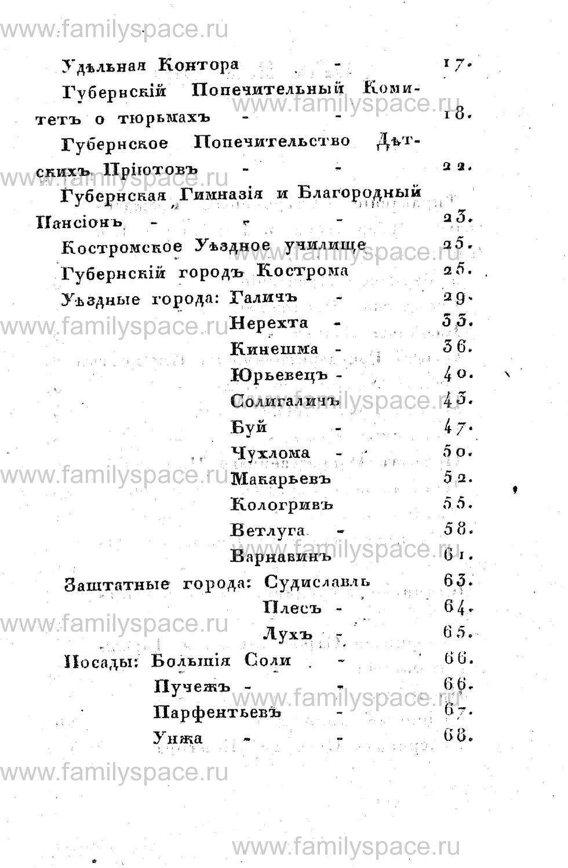Поиск по фамилии - Памятная книжка Костромской губернии на 1853 год, страница 109