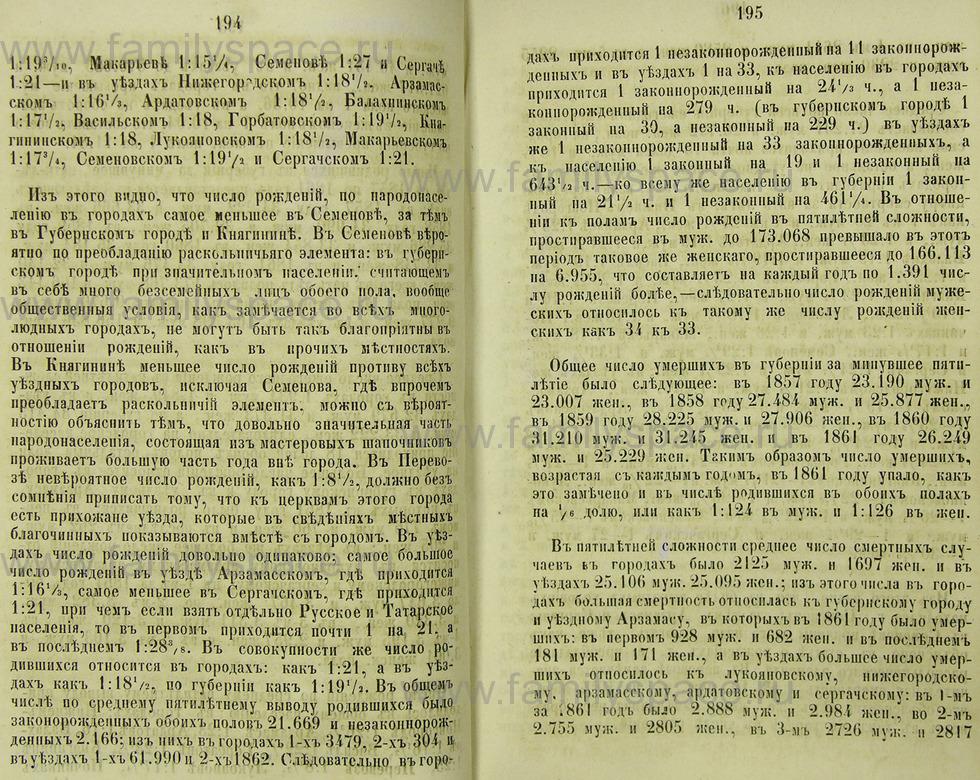 Поиск по фамилии - Памятная книжка Нижегородской губернии на 1865 год, страница 1194