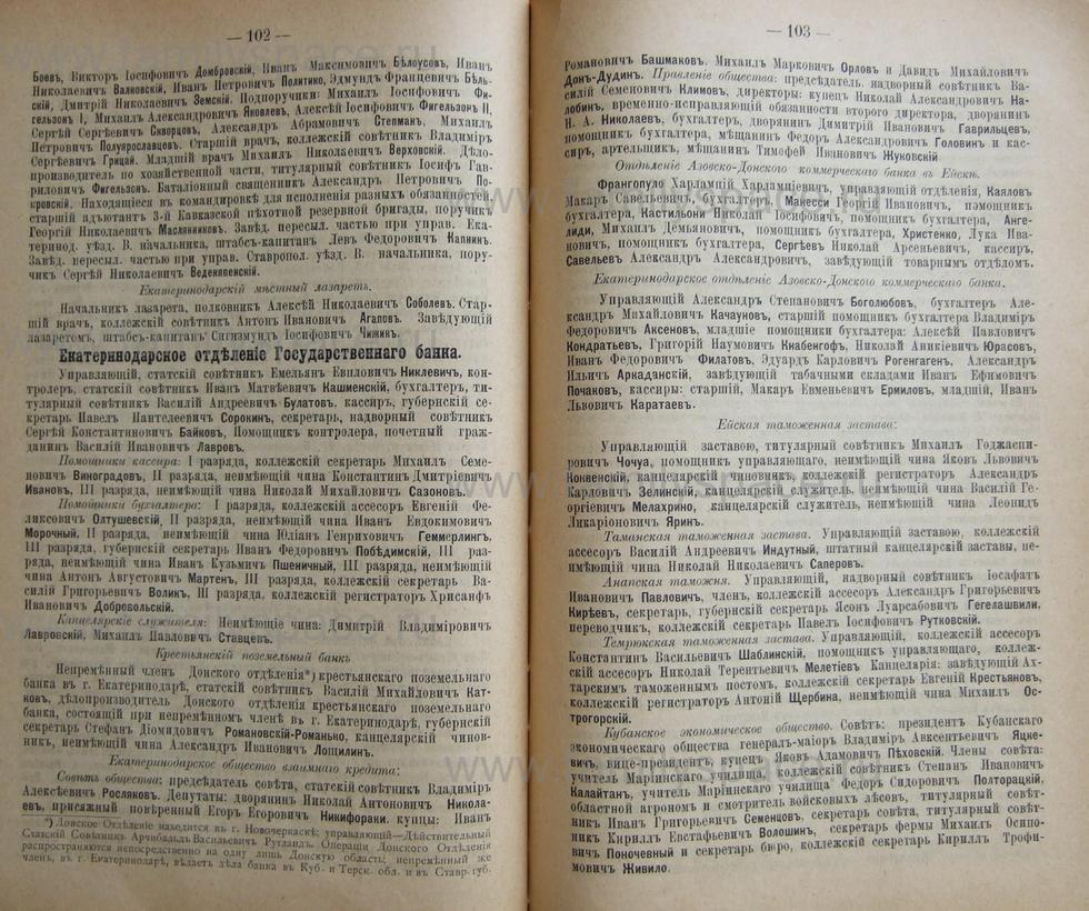 Поиск по фамилии - Кубанский календарь на 1898 год, страница 1102