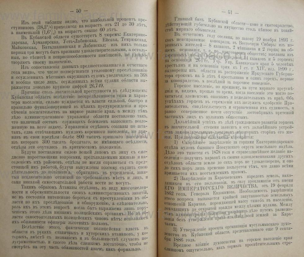 Поиск по фамилии - Кубанский календарь на 1898 год, страница 2050