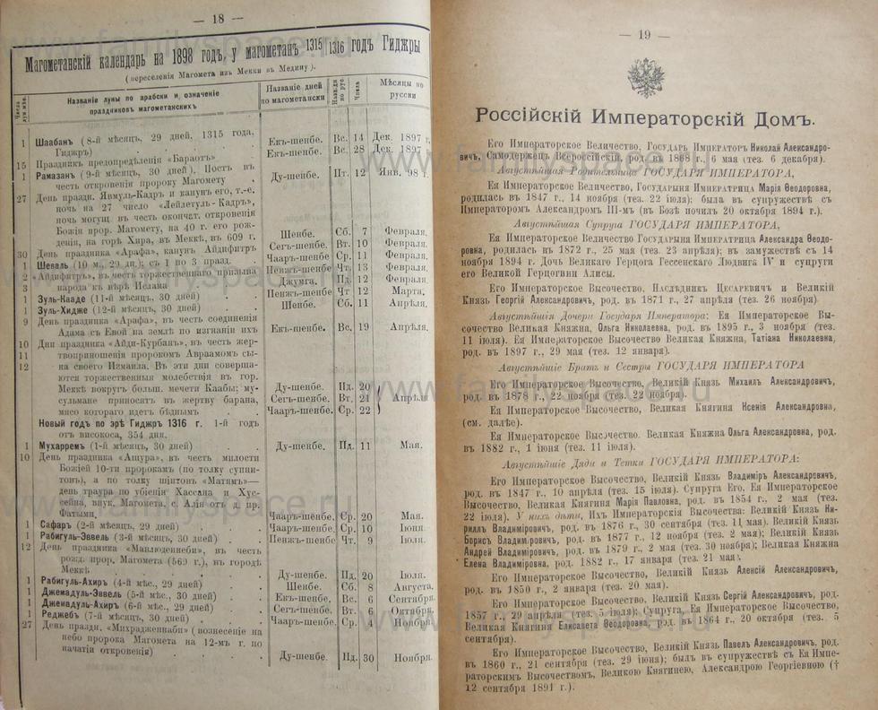 Поиск по фамилии - Кубанский календарь на 1898 год, страница 1018
