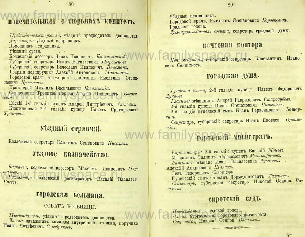 Поиск по фамилии - Памятная книжка Нижегородской губернии на 1865 год, страница 2088