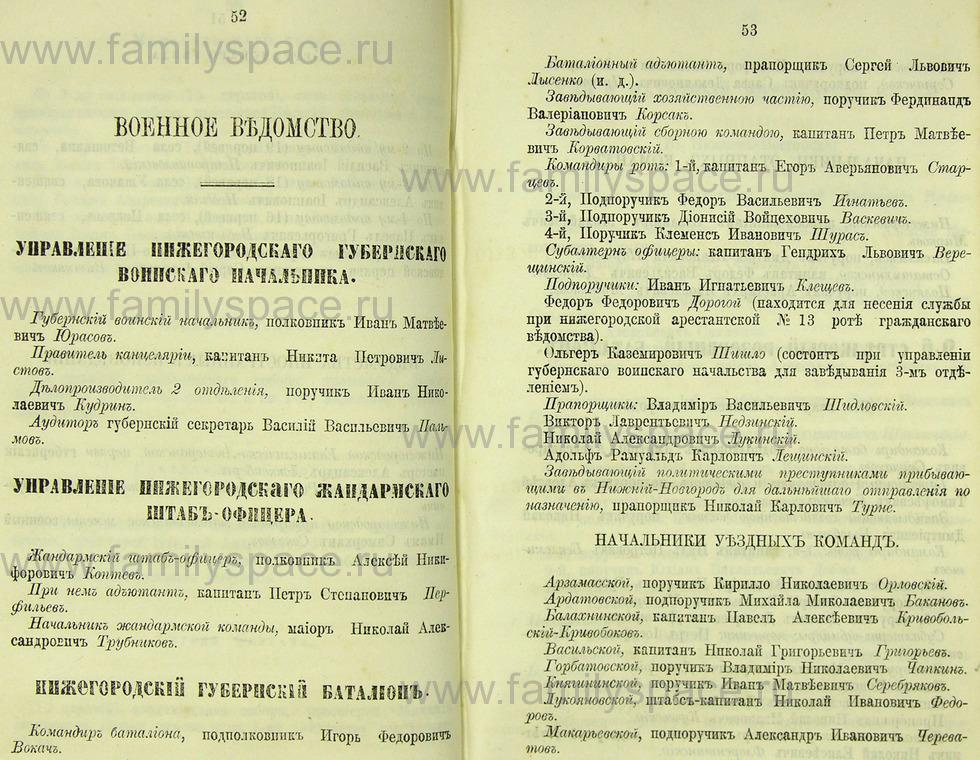 Поиск по фамилии - Памятная книжка Нижегородской губернии на 1865 год, страница 2052