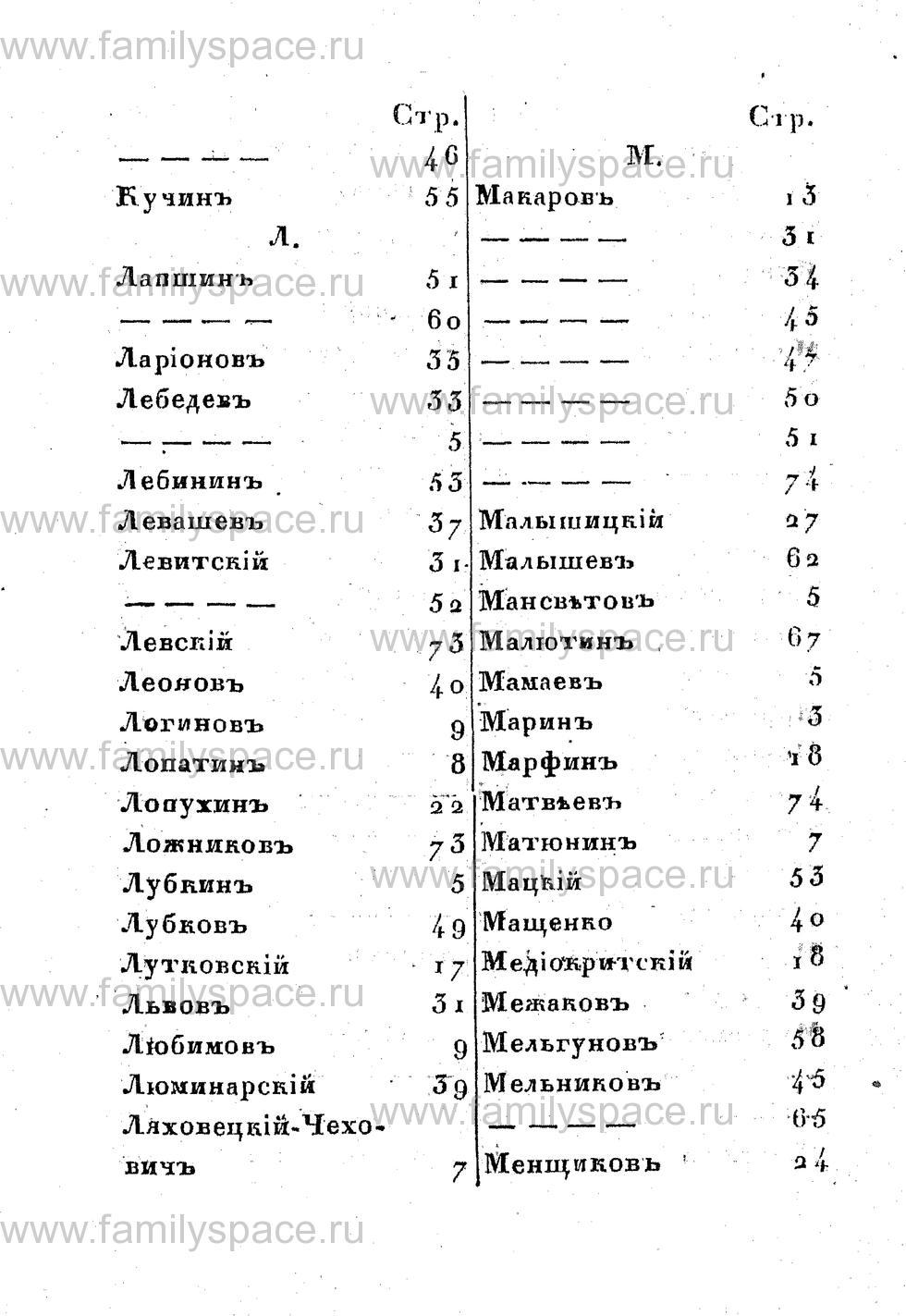Поиск по фамилии - Памятная книжка Костромской губернии на 1853 год, страница 118