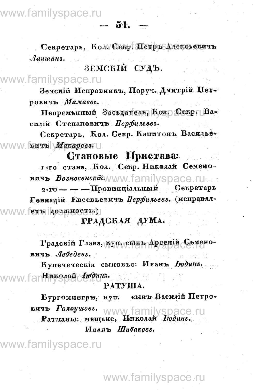 Поиск по фамилии - Памятная книжка Костромской губернии на 1853 год, страница 51