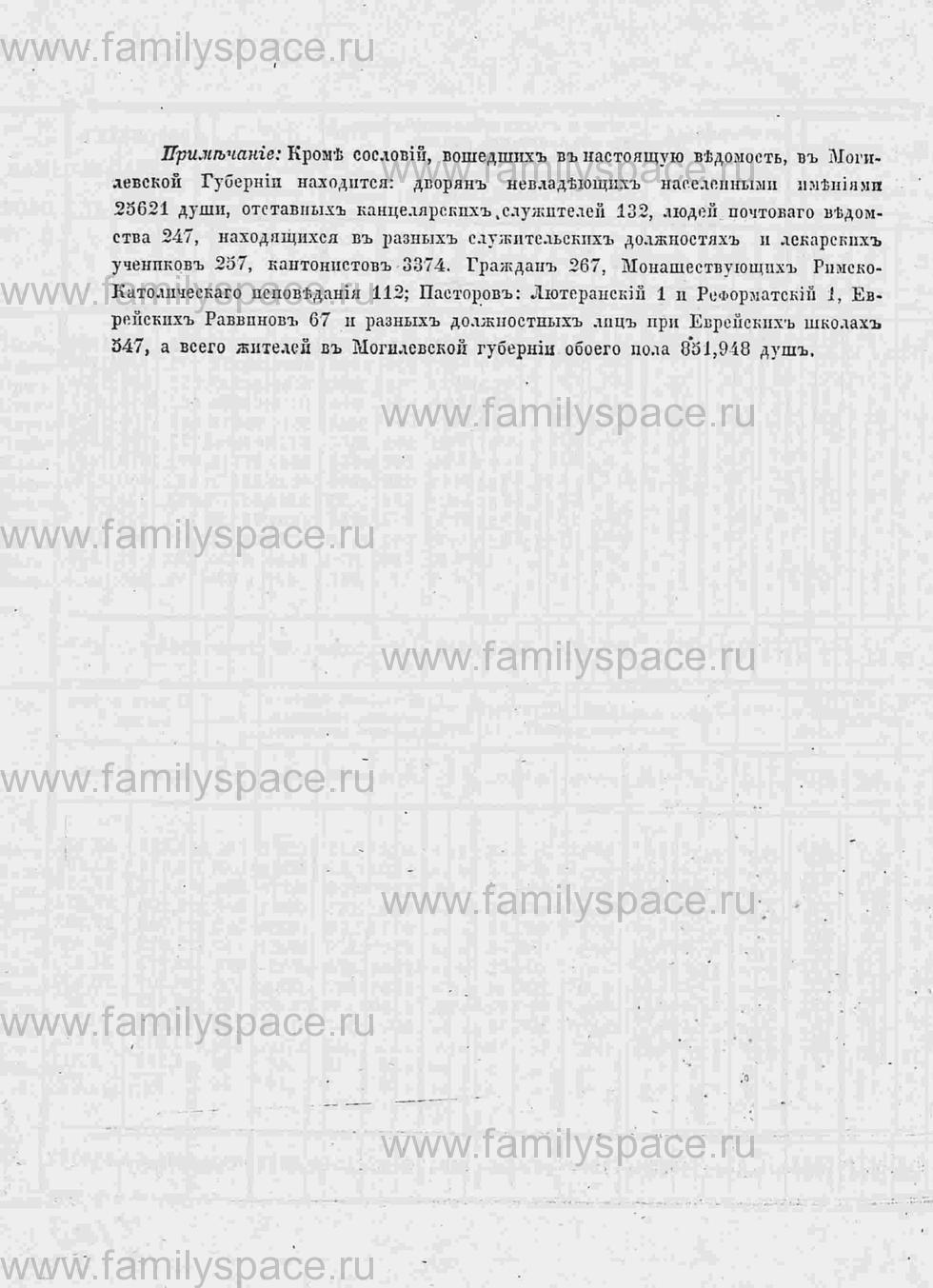 Поиск по фамилии - Памятная книга за 1853 год по Могилёвской губернии, страница 124