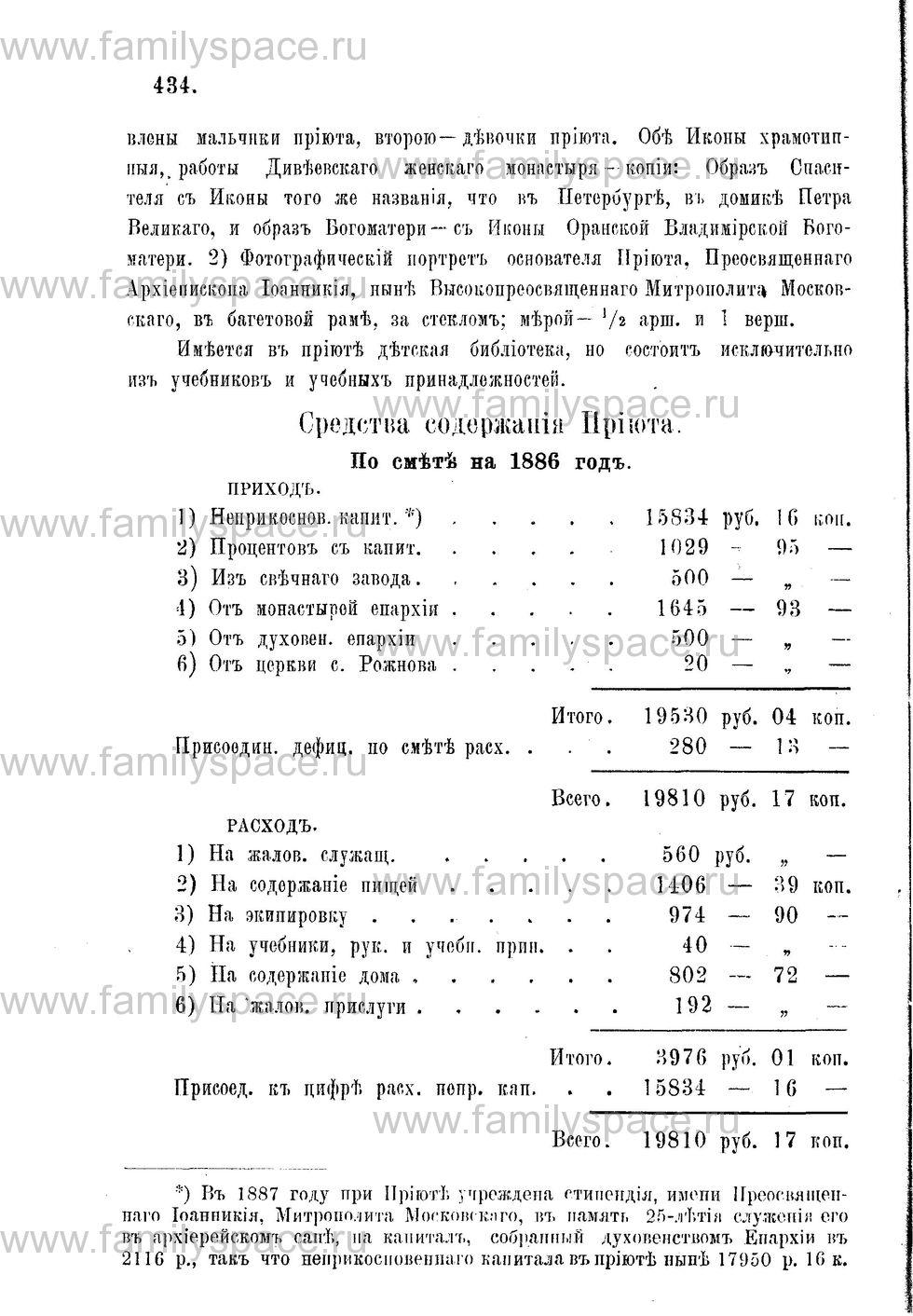 Поиск по фамилии - Адрес-календарь Нижегородской епархии на 1888 год, страница 1434
