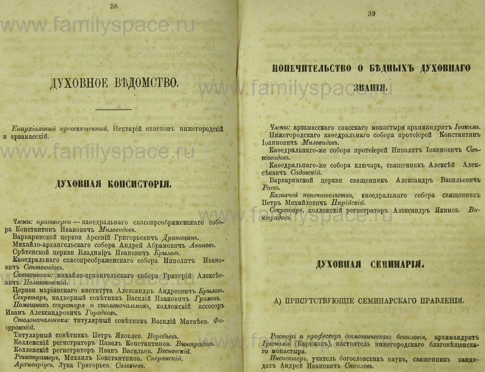 Поиск по фамилии - Памятная книжка Нижегородской губернии на 1865 год, страница 2038