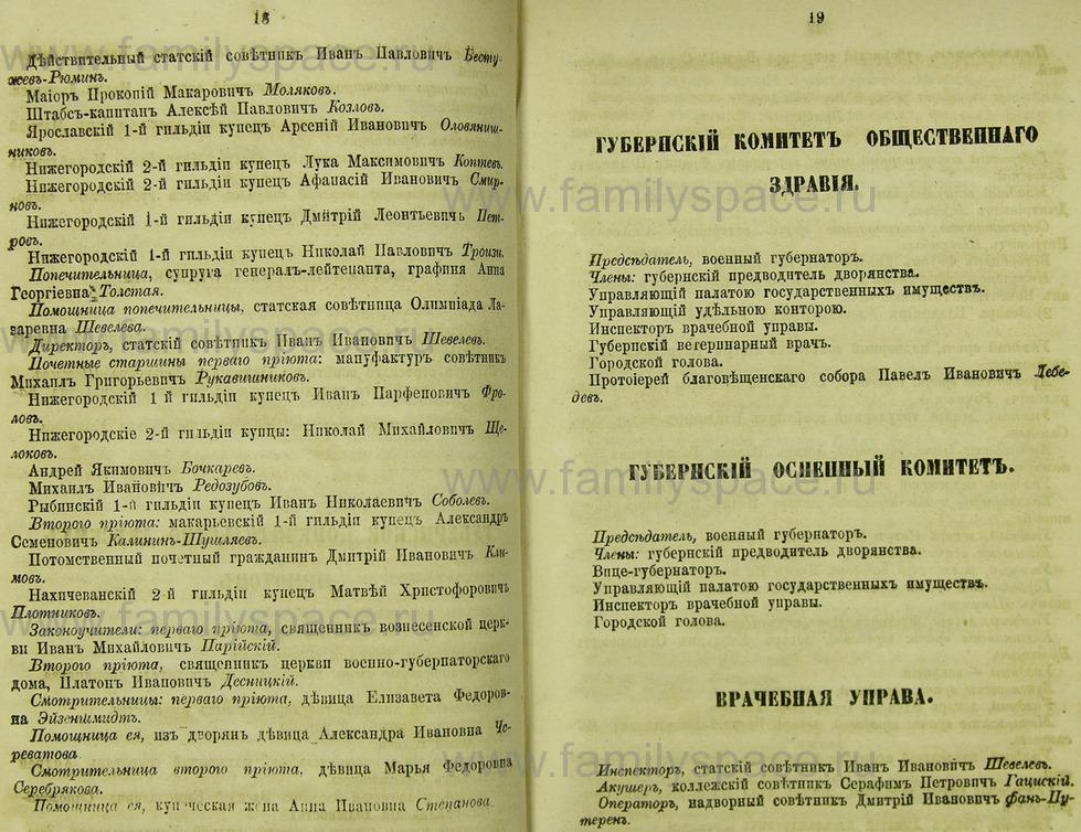 Поиск по фамилии - Памятная книжка Нижегородской губернии на 1865 год, страница 2018