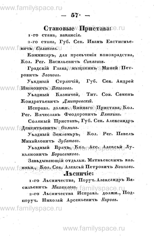 Поиск по фамилии - Памятная книжка Костромской губернии на 1853 год, страница 57