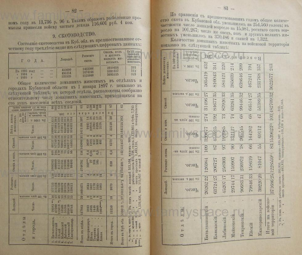 Поиск по фамилии - Кубанский календарь на 1898 год, страница 2082