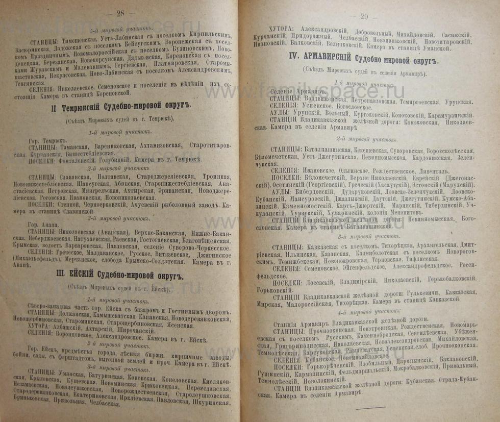 Поиск по фамилии - Кубанский календарь на 1898 год, страница 1028