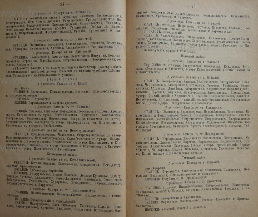 Поиск по фамилии - Кубанский календарь на 1898 год, страница 1024