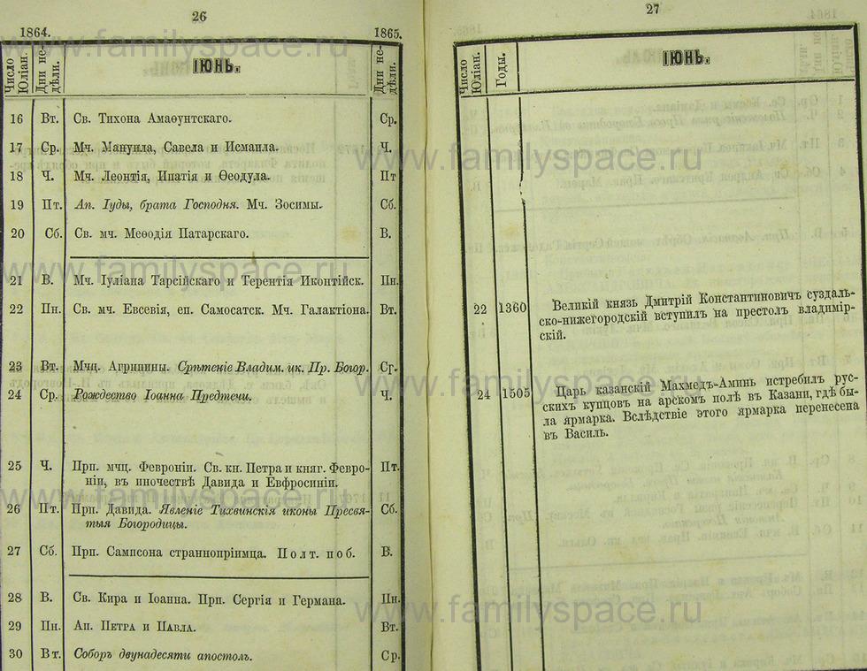 Поиск по фамилии - Памятная книжка Нижегородской губернии на 1865 год, страница 5026