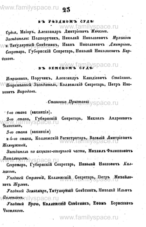 Поиск по фамилии - Адрес-календарь Курской губернии на 1853 год, страница 1023